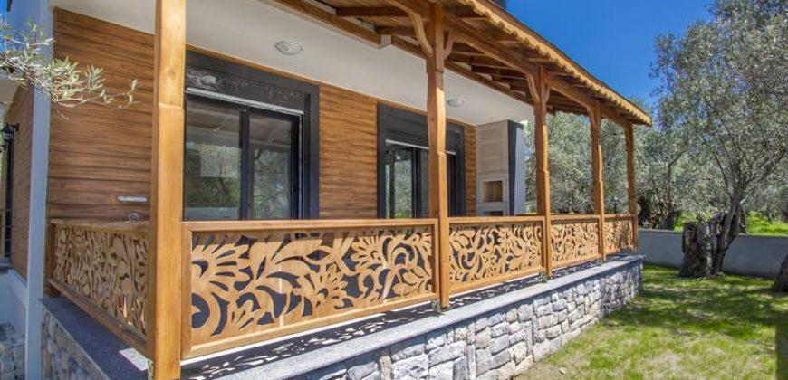 Altınoluk Satılık Sıfır Villa / Denize 200 metre / Müstakil Bahçeli / Deniz Manzaralı