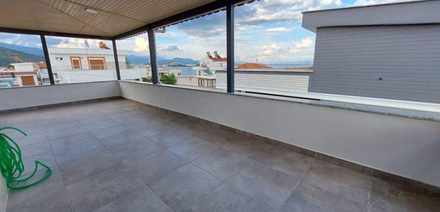 Güre Sahil Satılık Villa / Denize 50 Metre / Deniz Manzaralı